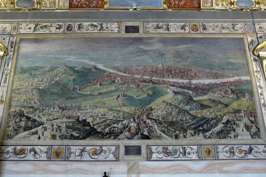 Florencia en la Edad Media (Palazzo Vecchio)