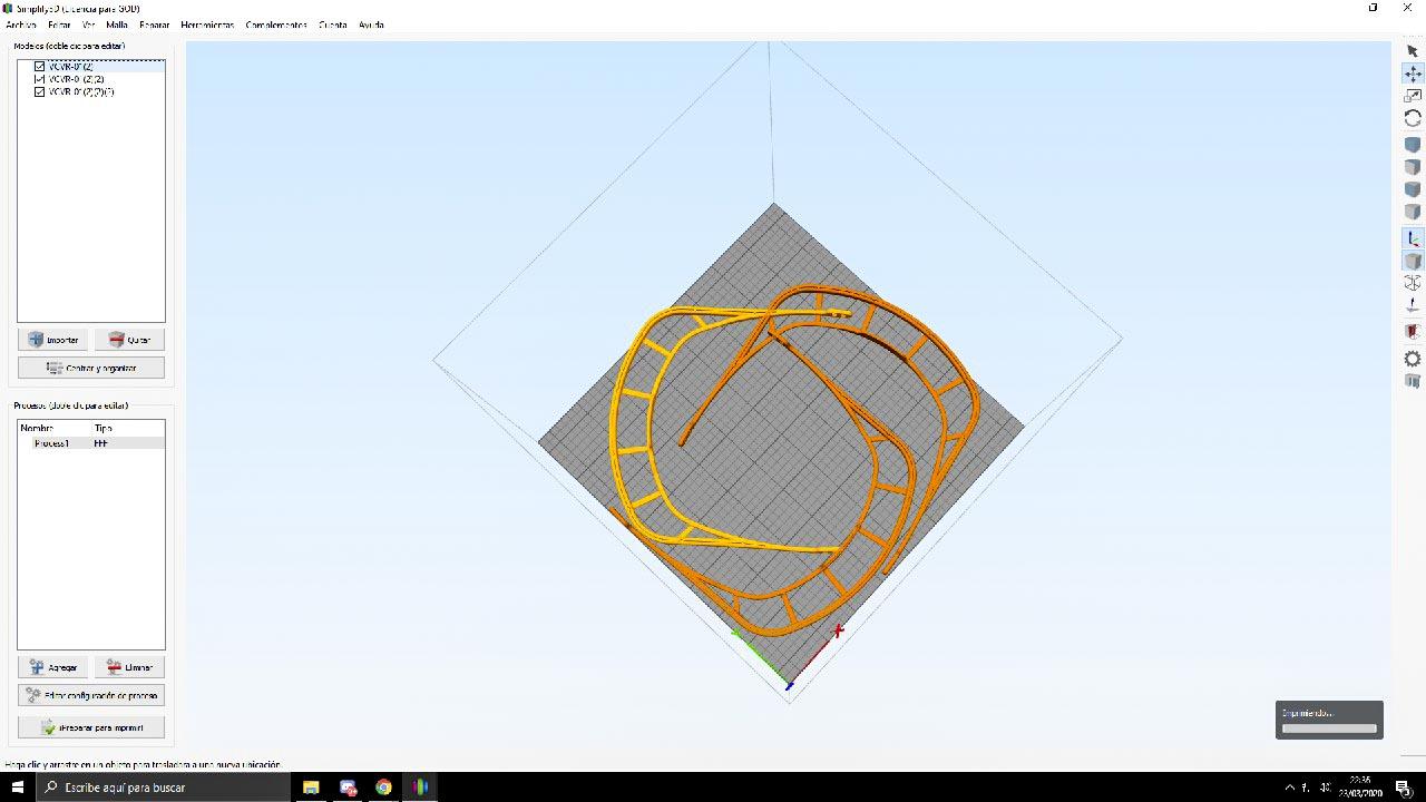 Generació de pantalles per al COVID 19 amb impressores 3D - imatge 0