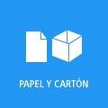Botón enlace a papel y cartón