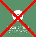 Botón enlace a discos ópticos