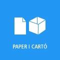 Botó enllaç a paper i cartó