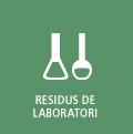 Botó enllaç a residus de laboratori