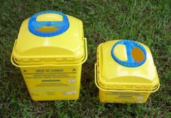 contenidor residus tallants i punxants