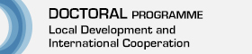 This opens a new window Link to Doctoral in Local Development and International Cooperation