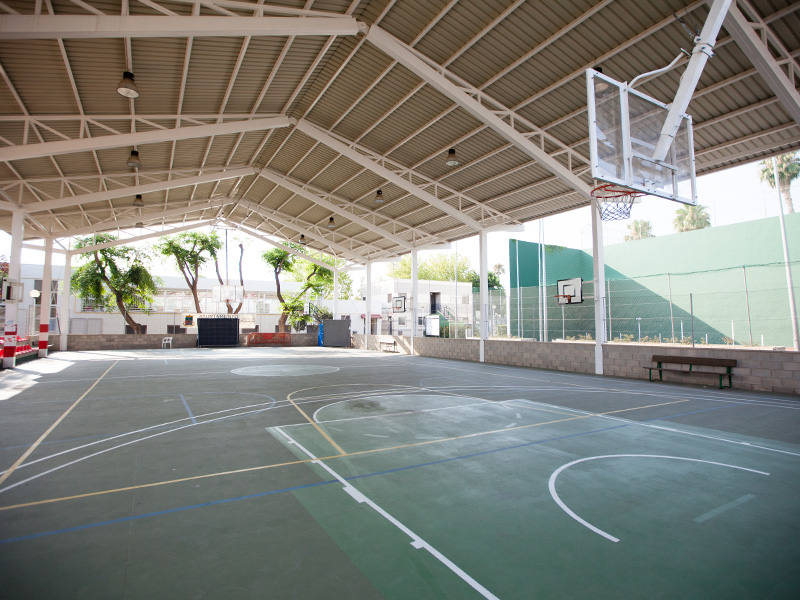 Sports centre - Basketball court