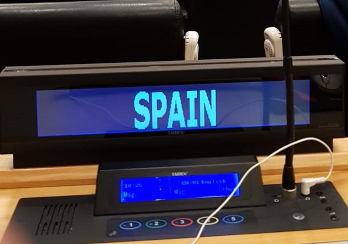 Carlos Esplugues Representa A Espana En La Comision De Las