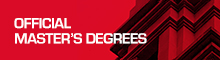 Official Master's degree programmes
