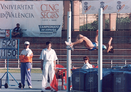 CEUS d'Atletisme a la Universitat 1999