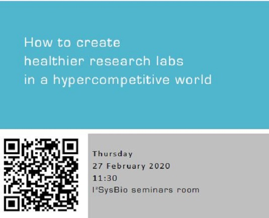 How to create healthier research labs in a hypercompetitive world
