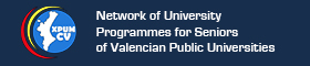 This opens a new window Network of University Programmes for Seniors of Valencian Public Universities banner