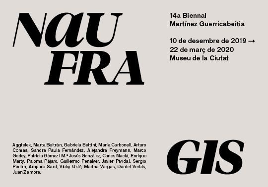 Graphic image of the 14th Martínez Guerricabeitia Biennial.