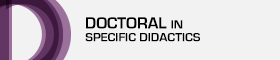 This opens a new window Link to Doctoral Programme in Specific Didactics