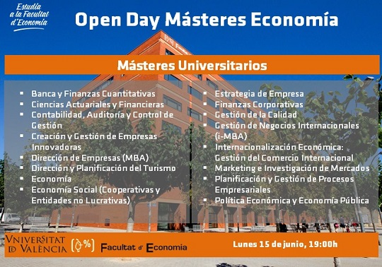 Open Day Màsters Economia