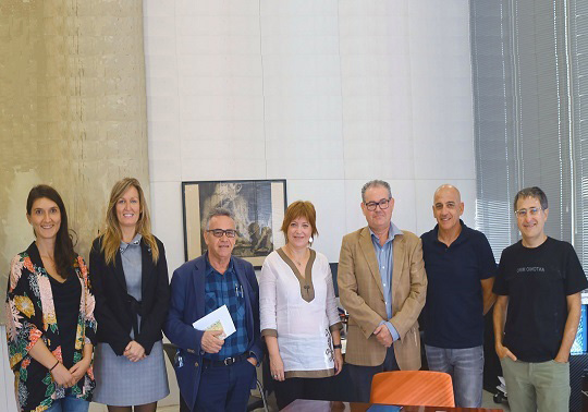 Meeting of representatives of the universities and À Punt