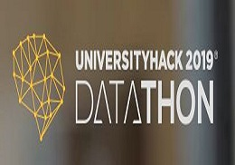 Teams of the ETSE-UV winners of the Cajamar University Hack 2019