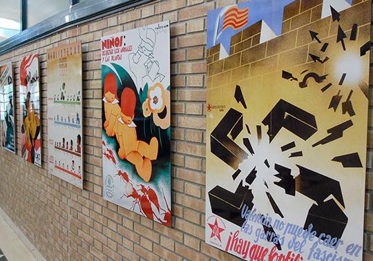 La Universitat de València muestra en Cortes de Pallás sus carteles ...