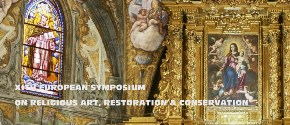 11th European Symposium of Religious Art, Conservtion and Restoration Facultad de Geografía e Historia  Universitat de València 11-13 Abril, 2019