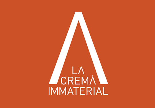 Poster of the Cremà Immaterial