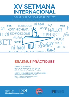 Informative Sessions of Erasmus Practices