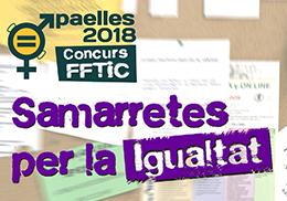 1er Concurso De La Fftic Camisetas Por La Igualdad Paellas 2018