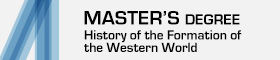 Master's Degree in History of the Formation of the Western World