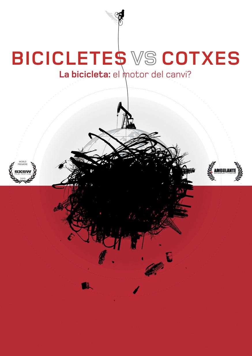 Resultado de imagen de BICICLETES VERSUS COTXES