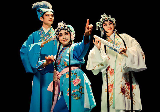 Performers of the Sichuan Opera