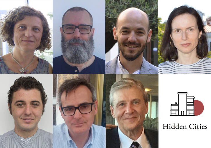 (Left to right). Up: Mónica Bolufer Peruga, Jorge A. Catalá Sanz, Juan Gomis Coloma, Blanca Llanes Parra. Under: Daniel Muñoz Navarro, Juan Francisco Pardo Molero, Pablo Pérez García.