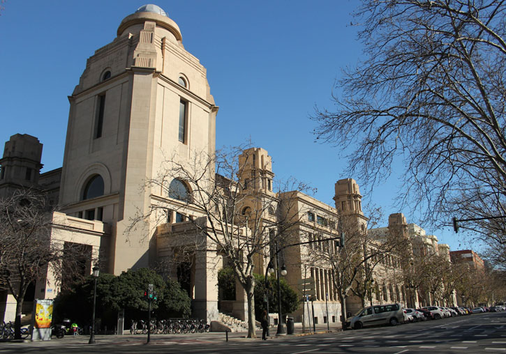 Rectorate Building of the University of Valencia.