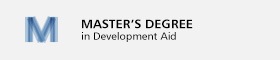 banner Master's Degree in Development Aid