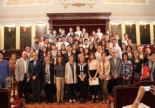 La Universitat celebra el acto conjunto de reconocimiento de las ...