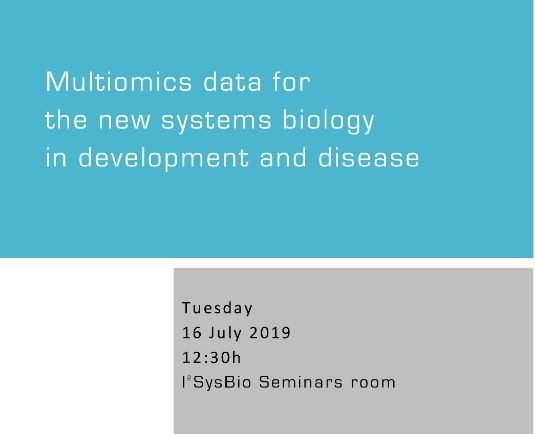 Multiomics data for the new systems biology in development and disease