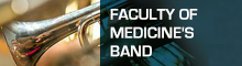 This opens a new window Faculty of Medicine's band