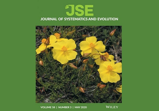Portada del Journal of Systematics and Evolution