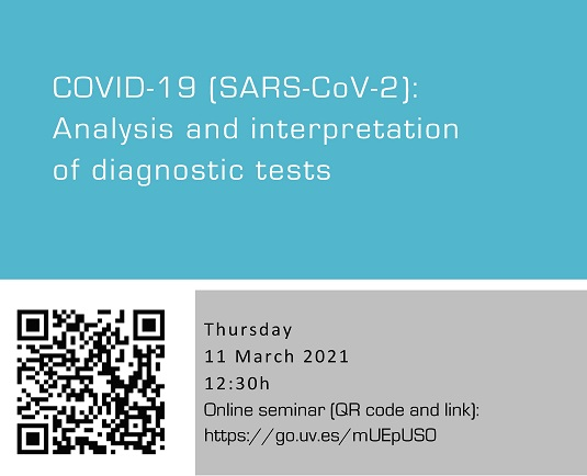 COVID-19 (SARS-CoV-2): Analysis and interpretation of diagnostic tests