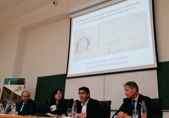 presentation at the universitat of the document of ferdinand ii the