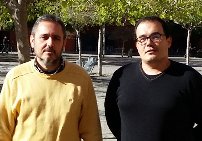 Óscar Muñoz, researcher at the Faculty of Social Sciences, and Josep V. Pitxer, professor at the Department of Applied Economics.