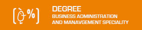 Degree ADE: Business Administration and Management Speciality
