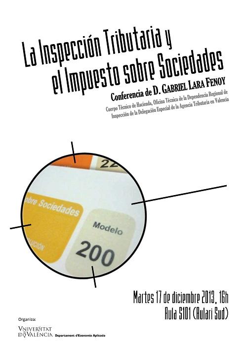 La inspecci n tributaria y el impuesto sobre sociedades for Oficinas hacienda valencia