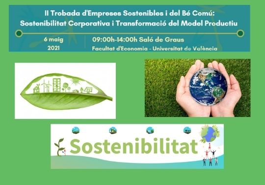 Poster of the 2nd Meeting of Sustainable and Common Good Business