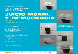4th International Congress of Bioethics: Moral Judgement and Democracy