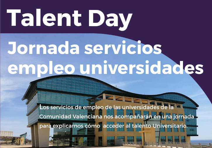 Cartell del TALENT DAY.