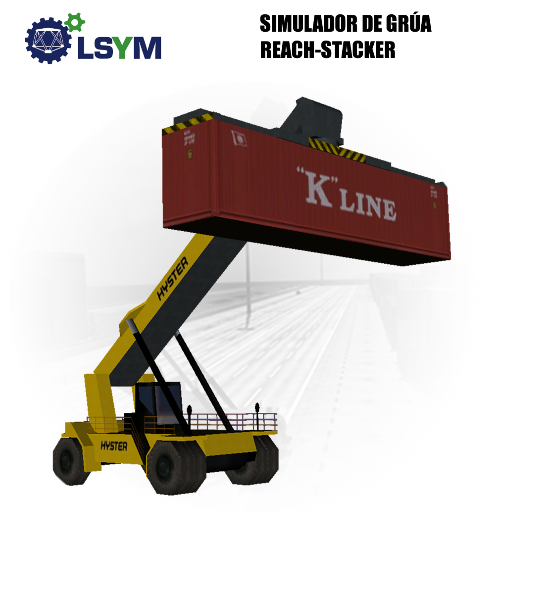 Reach Stacker Crane Simulator