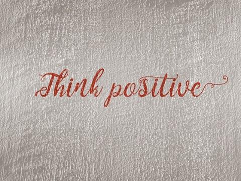 Pensa en positiu