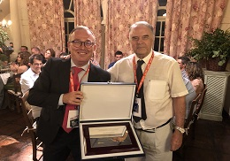 The professor of the Department of Electronic Engineering, Enrique Dede, has been recognised in the SAAEI 2019