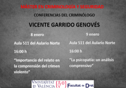 Conferencias Vicente Garrrido 8-9 enero