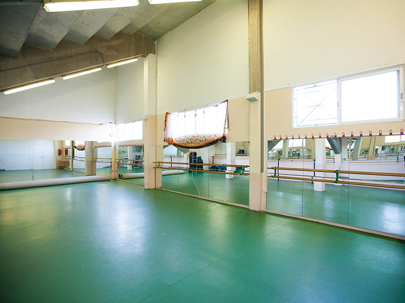 Sports Centre - warm-up area