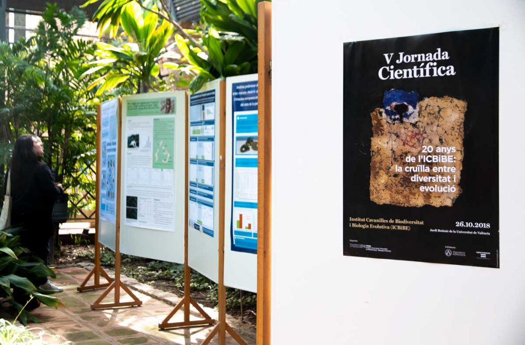 Scientific posters in the Umbracle