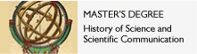 Master in History of Science and Scientific Communication
