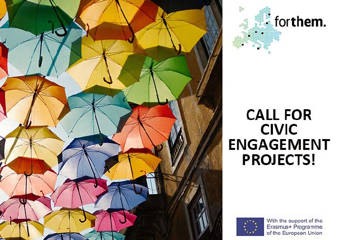Call for proposals on civic engagement projects - 2020-2021